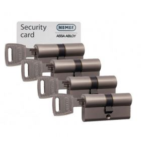 Nemef NF3 SKG3 - 4 cilinders met 12 sleutels