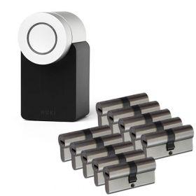 Nuki 2.0 Smart Lock + 10x Nemef NF4 cilinder SKG3