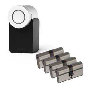 Nuki 2.0 Smart Lock + 4x Nemef NF3 cilinder SKG3
