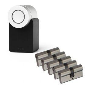 Nuki 2.0 Smart Lock + 5x Nemef NF3 cilinder SKG3