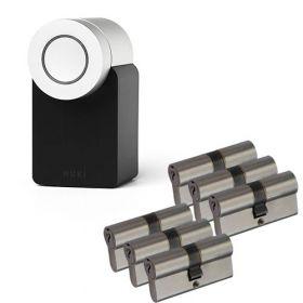 Nuki 2.0 Smart Lock + 6x Nemef NF3 cilinder SKG3