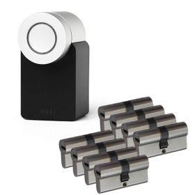 Nuki 2.0 Smart Lock + 8x Nemef NF4 cilinder SKG3