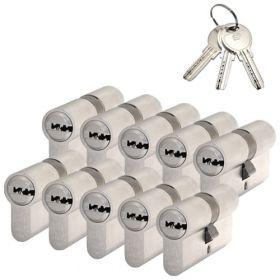 S2 F6 SKG2 - 10 cilinders met 6 sleutels