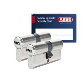 Abus Bravus 3000 SKG3 - 2 cilinders met 6 sleutels