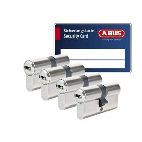 Abus Bravus 3000 SKG3 - 4 cilinders met 12 sleutels