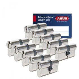 Abus S6+ SKG3 - 10 cilinders met 30 sleutels
