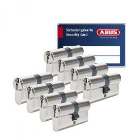 Abus S6+ SKG3 - 8 cilinders met 24 sleutels
