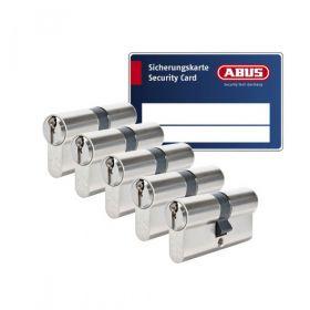 Abus Zolit 1000 SKG3 - 5 cilinders met 15 sleutels