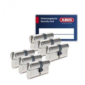 Abus Zolit 1000 SKG3 - 6 cilinders met 18 sleutels