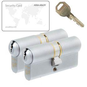Assa Abloy C300 SKG3 - 2 cilinders met 6 sleutels