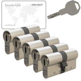 Assa Abloy K800 SKG3 - 5 cilinders met 15 sleutels