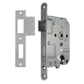 AXA 7145 dag- en nacht cilinderslot RVS afgerond PC55 doornmaat 50 mm