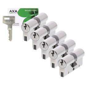 AXA Xtreme Security SKG3 - 5 cilinders met 15 sleutels