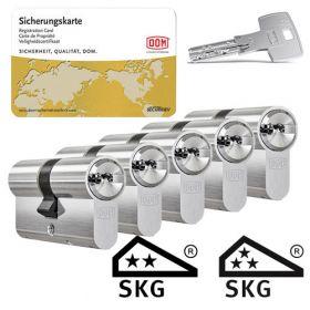 Dom IX Teco SKG2 - 5 cilinders met 15 sleutels