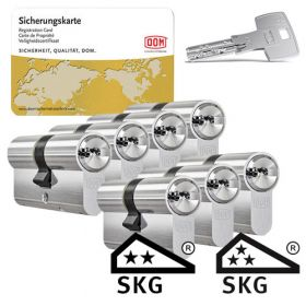 Dom IX Teco SKG2 - 7 cilinders met 21 sleutels