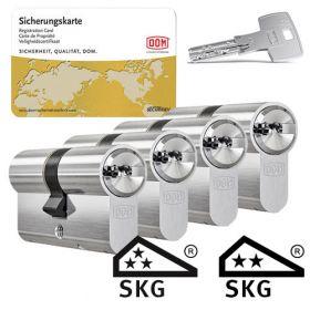 Dom IX Teco SKG3 - 4 cilinders met 12 sleutels