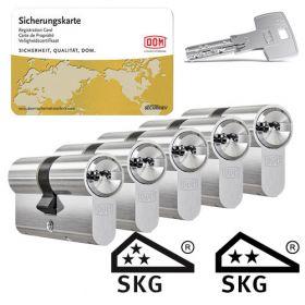 Dom IX Teco SKG3 - 5 cilinders met 15 sleutels