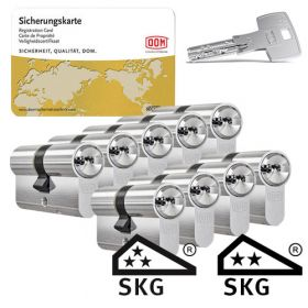 Dom IX Teco SKG3 - 9 cilinders met 27 sleutels