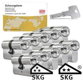 Dom IX Twido SKG3 - 10 cilinders met 30 sleutels