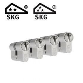 Dom Plura SKG2 - 4 cilinders met 12 sleutels