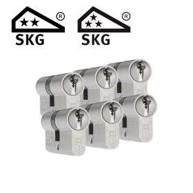 Dom Plura SKG2 - 6 cilinders met 18 sleutels
