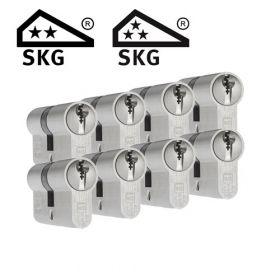 Dom Plura SKG2 - 8 cilinders met 24 sleutels