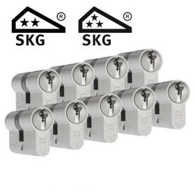 Dom Plura SKG2 - 9 cilinders met 27 sleutels