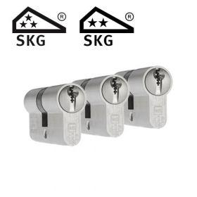 Dom Plura SKG3 - 3 cilinders met 9 sleutels
