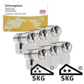 Dom Sigma Plus SKG3 - 6 cilinders met 18 sleutels