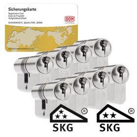 Dom Sigma Plus SKG3 - 8 cilinders met 24 sleutels