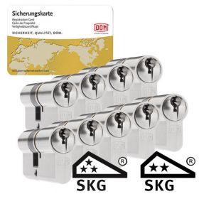 Dom Sigma Plus SKG3 - 9 cilinders met 27 sleutels