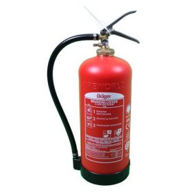 Dräger composiet brandblusser 6 liter schuim