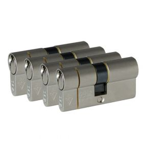 Iseo F6 Extra S SKG3 - 4 cilinders met 6 sleutels