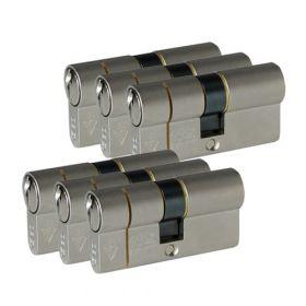 Iseo F6 Extra S SKG3 - 6 cilinders met 6 sleutels