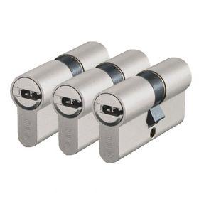 Iseo R6 SKG2 - 3 cilinders met 6 sleutels
