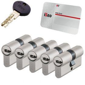 Iseo R7 SKG3 - 5 cilinders met 6 sleutels