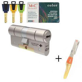 M&C Color+ SKG3 - 1 cilinder met 3 sleutels