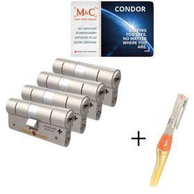 M&C Condor SKG3 - 4 cilinders met 7 sleutels