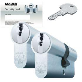 Mauer DT1 SKG3 - 2 cilinders met 6 sleutels