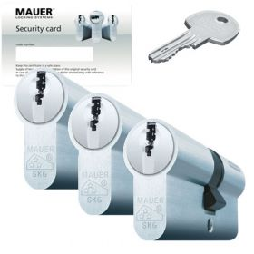 Mauer DT1 SKG3 - 3 cilinders met 9 sleutels