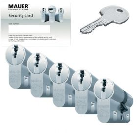 Mauer DT1+ SKG3 - 5 cilinders met 15 sleutels