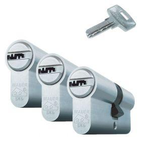 Mauer Elite 1 SKG2 - 3 cilinders met 9 sleutels