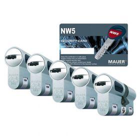 Mauer New Wave 5 SKG3 - 5 cilinders met 15 sleutels