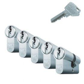 Mauer Standaard SKG2 - 5 cilinders met 15 sleutels