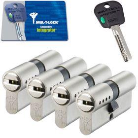 Mul-T-Lock Integrator SKG3 - 4 cilinders met 5 sleutels