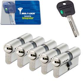 Mul-T-Lock Integrator SKG3 - 5 cilinders met 5 sleutels
