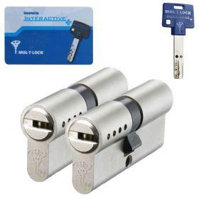 Mul-T-Lock Interactive+ SKG3 - 2 cilinders met 5 sleutels