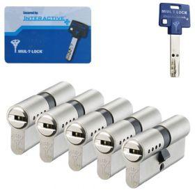 Mul-T-Lock Interactive+ SKG3 - 5 cilinders met 5 sleutels