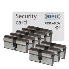 Nemef NF4 SKG3 - 8 cilinders met 24 sleutels
