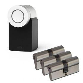 Nuki 2.0 Smart Lock + 3x Nemef NF3 cilinder SKG3
